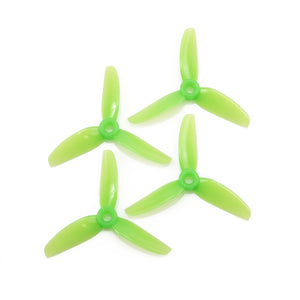 HQProp DP 3X5X3 PC Propeller (Set of 4 - Light Green)