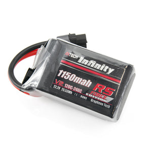 AHTECH Infinity RS Force V2 1150mah 120C 6S Lipo Battery