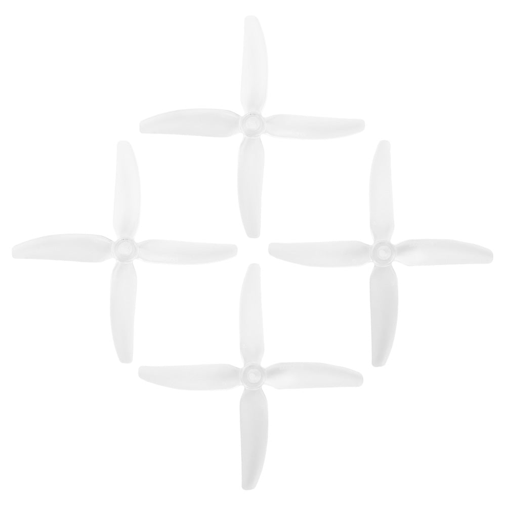 HQProp DP 5x4x4 PC V1S  Clear Propeller - 4 Blade (Set of 4 - PC)