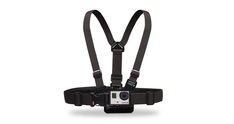 GoPro - Chest Mount Harness - Black