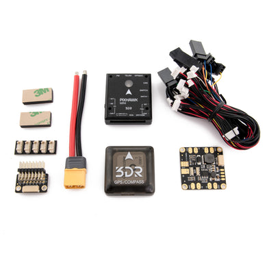 3DR Pixhawk Mini with GPS, Power Module + Holybro Telemetry Radio Combo