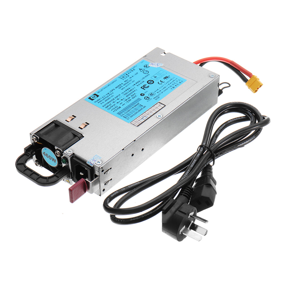 iFlight HP DC 12V 460W 38A Power Supply with XT60U-F Plug for ISDT Q6 SKYRC B6 NANO Battery Charger RC Drone FPV Racing