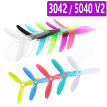 Load image into Gallery viewer, 10 Pairs GEPRC 5040 V2 / 3042 5Inch/3x4.2 Inch CW CCW 3 Blade Propellers For RC Quadcopter Models Toys Spare Part DIY Accs