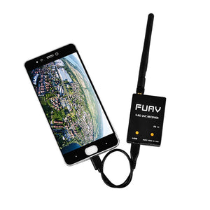FPV USV OTG 5.8G 150CH Full Channel FPV Receiver W/Audio For Android Smartphone