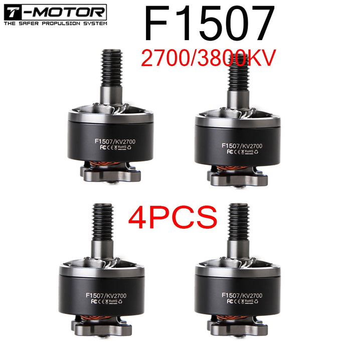 T-Motor F1507 1507 2700KV 3-6S / 3800KV 3-4S Brushless Motor for Cinewhoop RC Drone FPV Racing CineWhoop BetaFPV