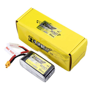 Gens Ace Tattu R-Line 1.0 LiPo Rechargeable Battery 650/750/850mah 95C 3S 4S 6S1P for RC FPV Racing Drone Quadcopter
