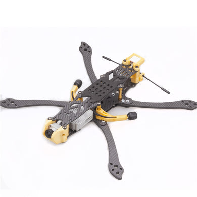 FLYWOO Mr.Croc HD 225mm 5inch \ 6inch \ 7Inch FPV FreeStyle Racing Frame Kit for FPV HD RC Racing Drone FPV Model Spare Part