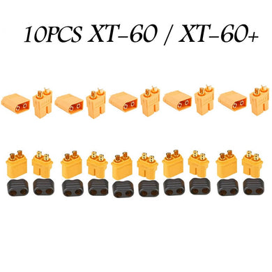 10PCS Of  XT60 XT-60 / XT60+ / XT30UPB Male Female Bullet Connectors Plugs F XT60 For RC FPV Lipo Battery RC Quadcopter (5 Pair)