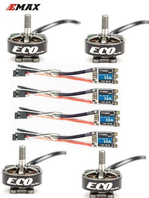 Emax ECO Series 2306 1700KV 3~6s /2400KV 2~4s  Durable Motor for DIY Racing Drone RC Helicopter
