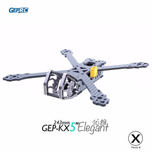 GEPRC GEP-KX5 Elegant FPV Rcing quadcopter 243MM Wheelbase carbon fiber frame TRUE X freestyle