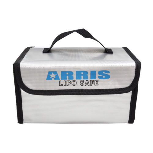 ARRIS Fire Retardant LiPo Battery Portable Safety Fireproof Case Bag Handbag Box 215*155*115mm For RC Drones FPV Quadcopter