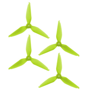 RaceKraft 5046 Tri-Blade (Set of 4 - Clear Green)