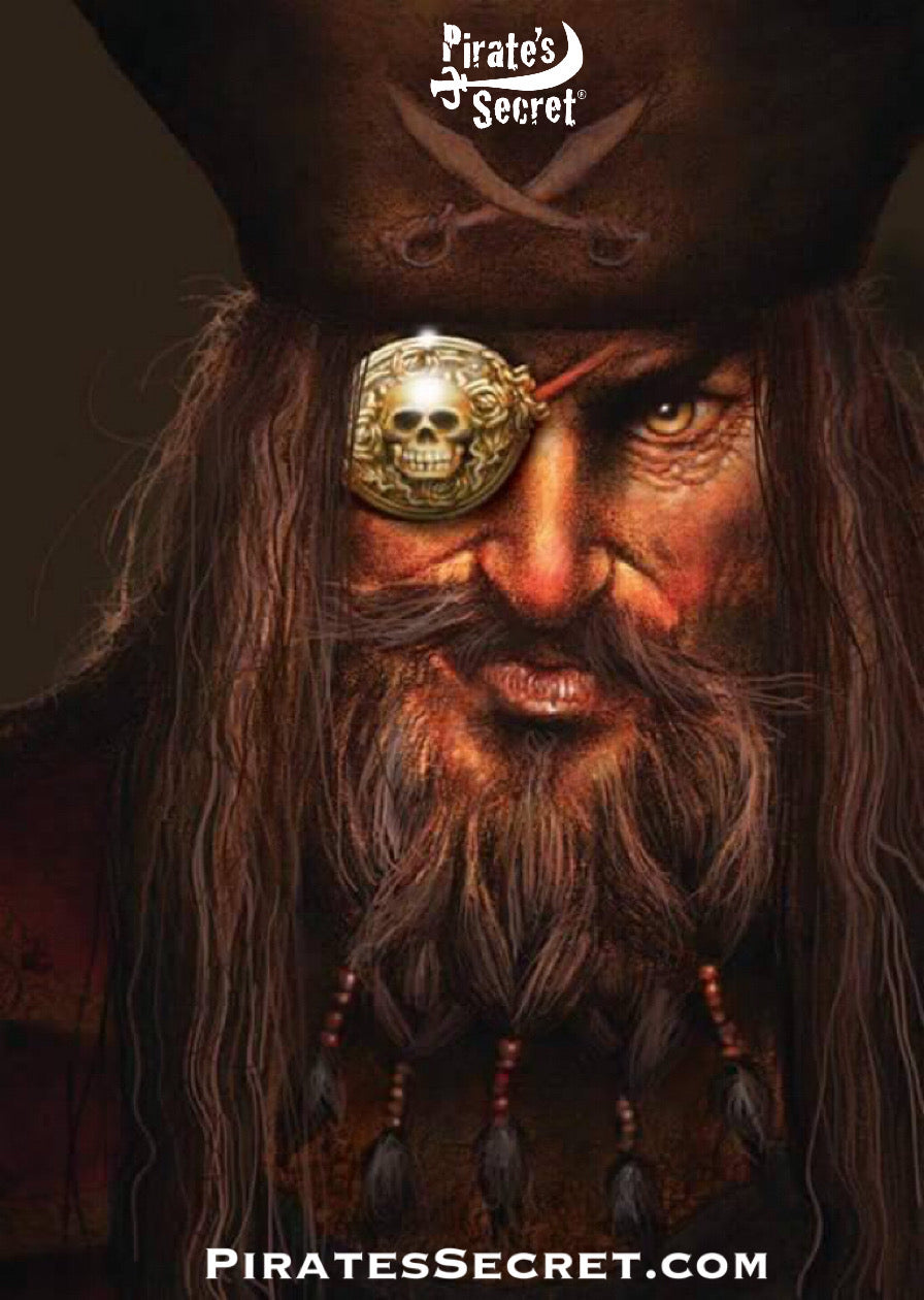 old pirate with eye patch