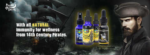 Pirate's Secret & Ship with all natural immunity from 14th century pirates