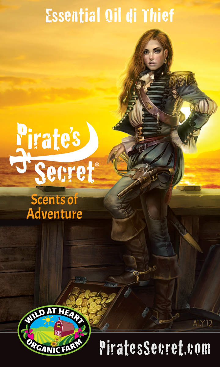 Treasure Chest of Gold-Lady Pirate-Pirate's Secret®-Pirate's Gold