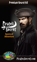 Pirate's Secret® Premium Beard Oil -Pirate