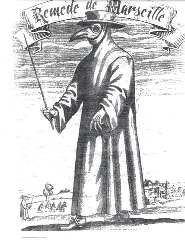 marseilles plague doctor with mask