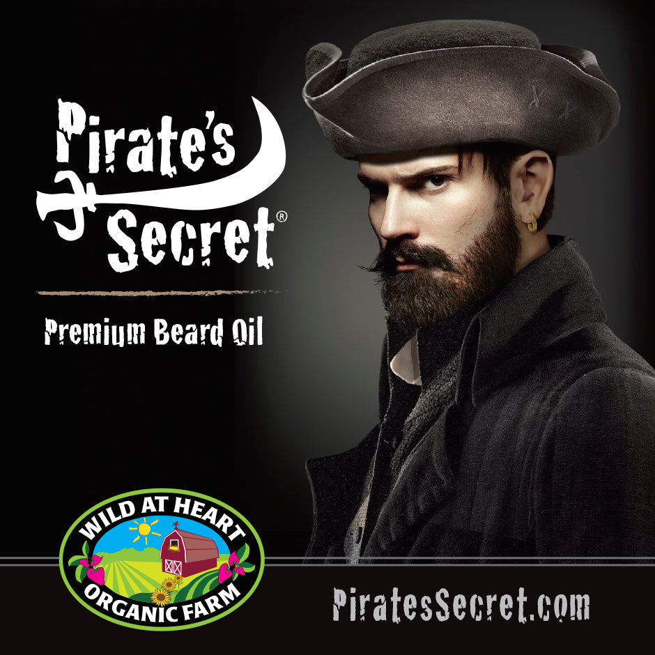 Pirate's Secret Premium Beard Oil