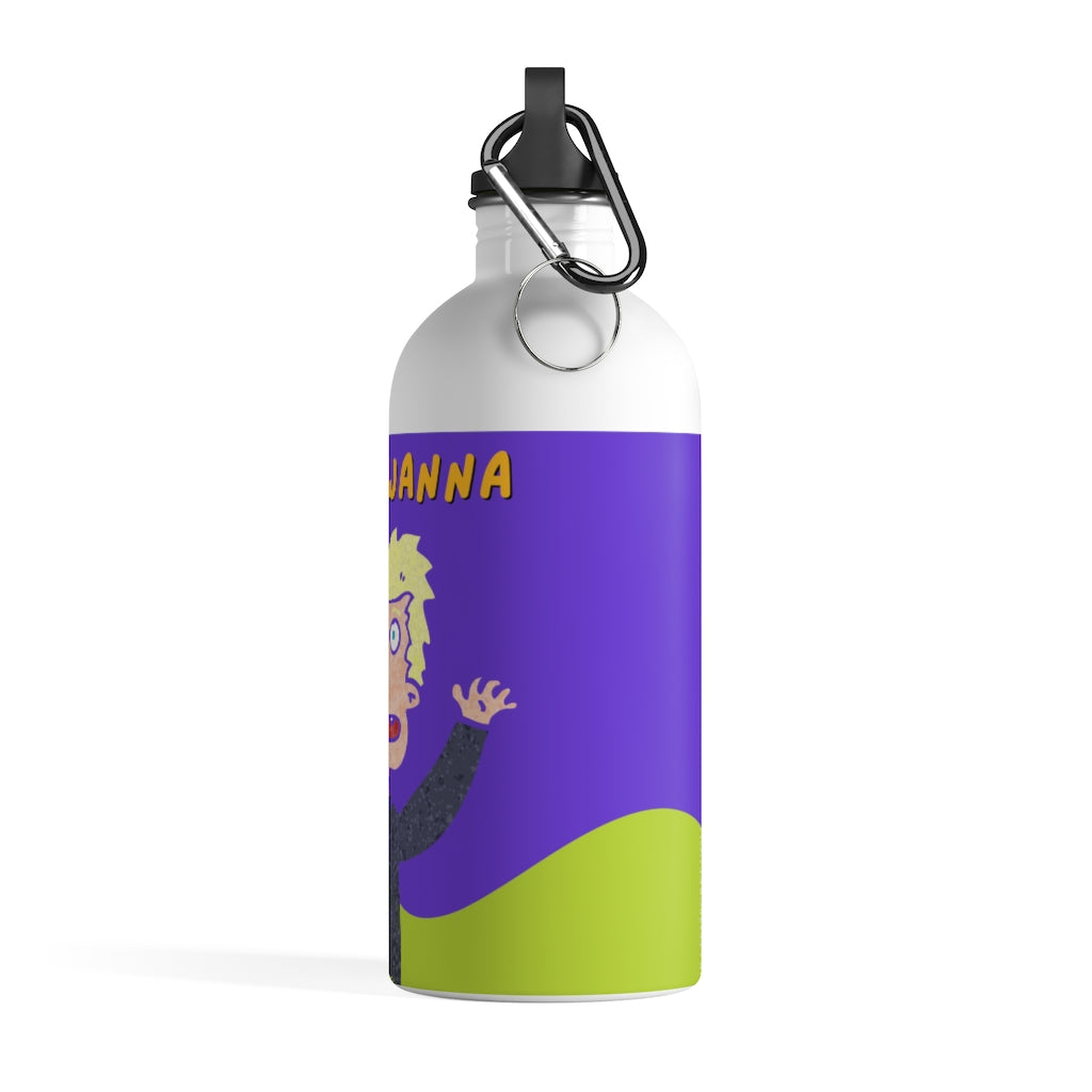 DON'T WANNA! - Stainless Steel Water Bottle