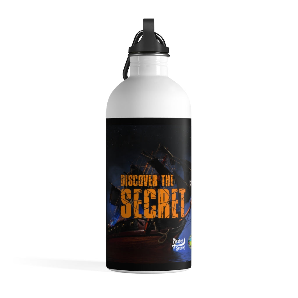 Discover the Pirate's Secret® Stainless Steel Water Bottle