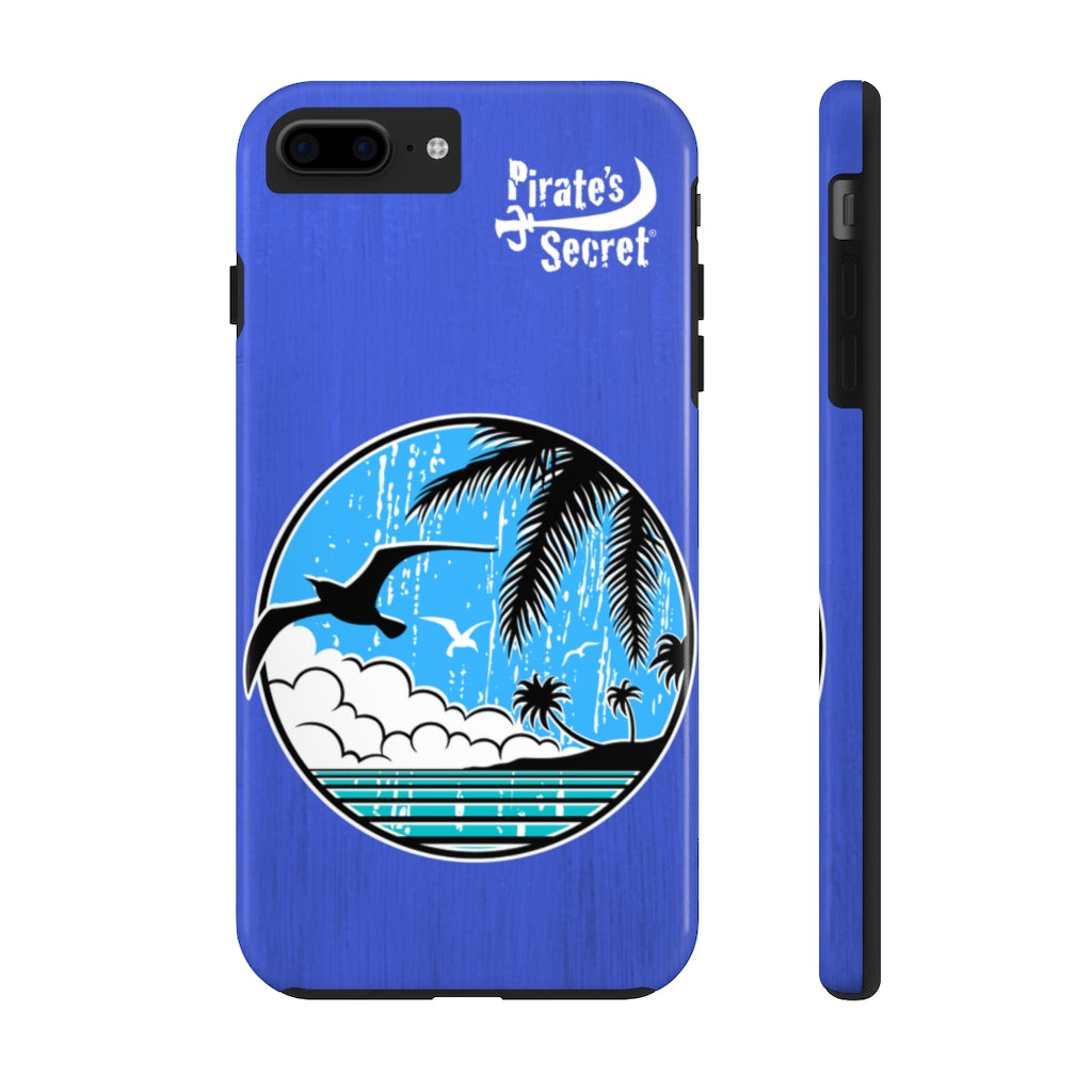 Go to the Beach blue Phone Case 15 sizes