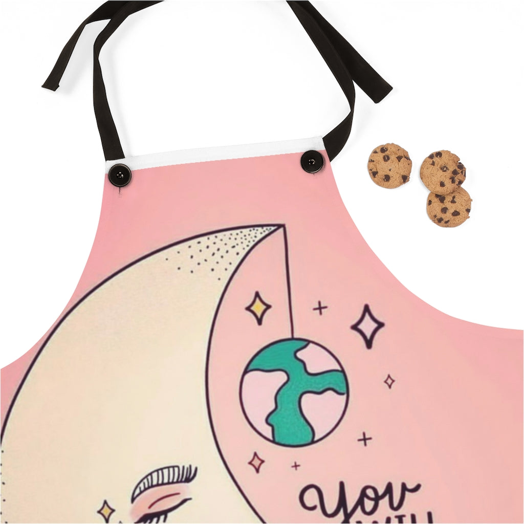 Apron with half Moon
