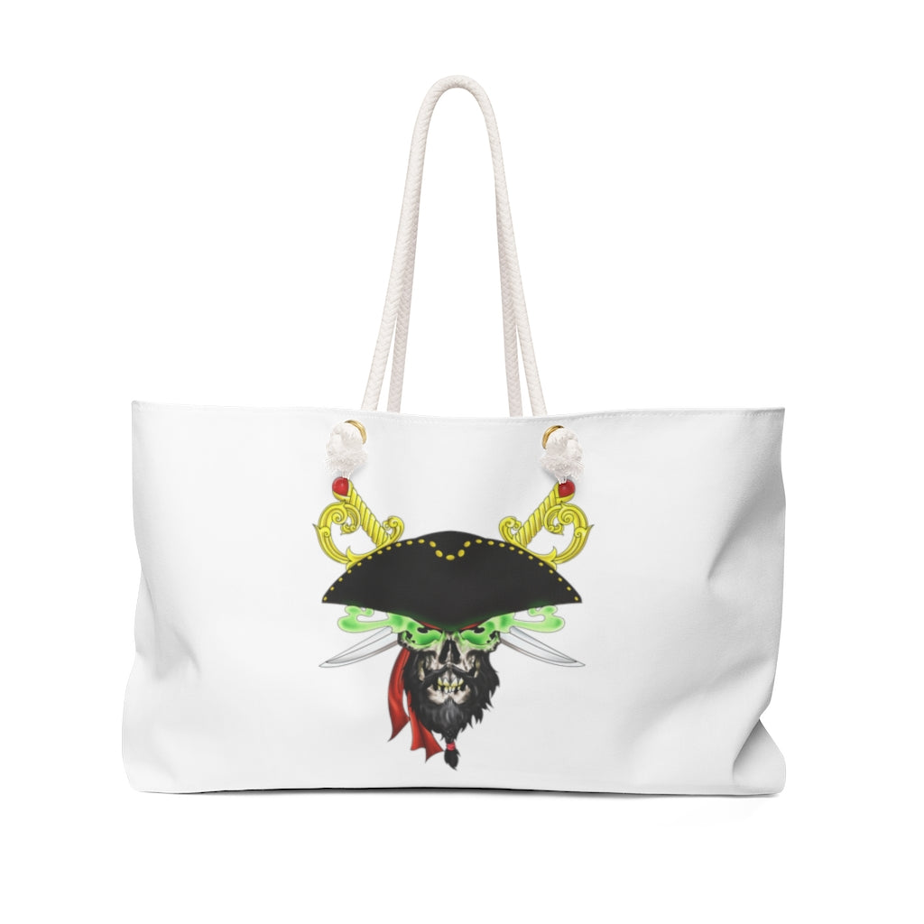 Pirate Head Weekender Bag