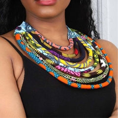 African necklace for women