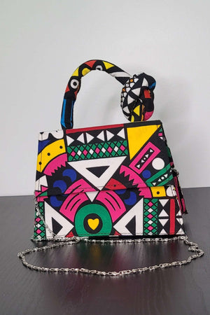 Load image into Gallery viewer, african bag. african print mini bag