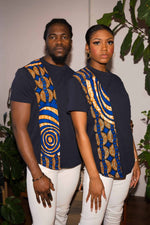 African clothing. African couples. T-shirts for couple. Matching couple outfit. African shirt for men. African shirt for women.