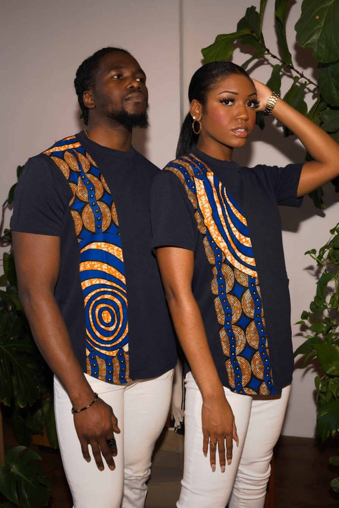 African t-shirts. Casual summer tops. Summer trends. African prints.