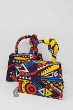 ZIRA African Print Mini Bag (With Knot)