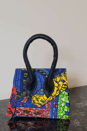 Load image into Gallery viewer, african print bag. african mini bag.