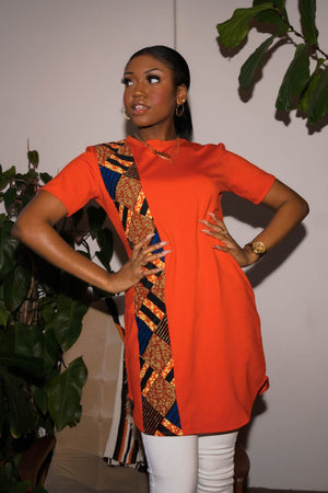 african shirt dress women