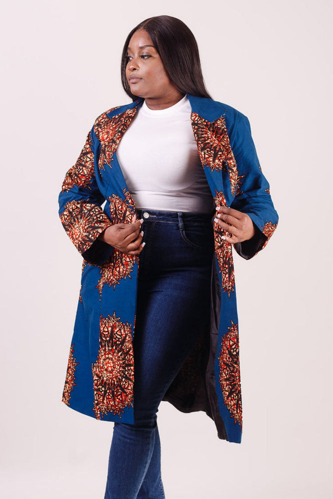 Plus size pant for women. African print plus size jacket and African print plus size pant. African clothing for plus size women