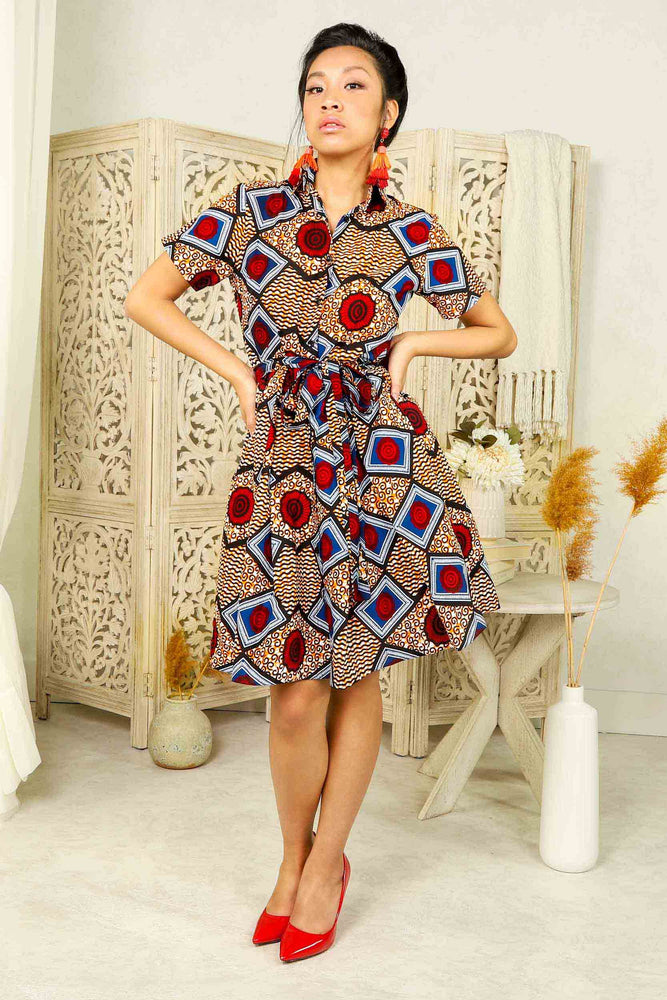 african dress. African dresses for woman. African print dresses. ankara dresses. African shirt dress. African mini dress. African short dresses for women. African short dress with pockets