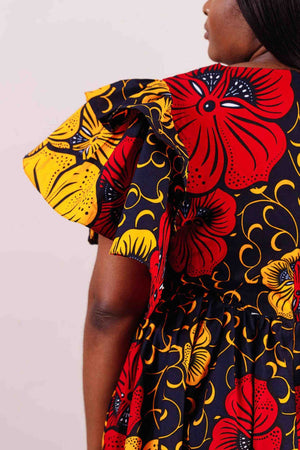 african print dress for women
