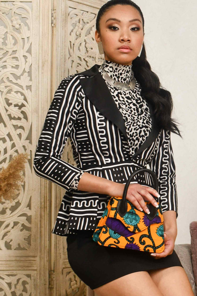Load image into Gallery viewer, EDUNA African Print Mini Bag