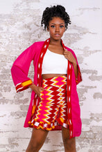Load image into Gallery viewer, ADRIANE AFRICAN PRINT WOMEN'S KIMONO TOP - KEJEO DESIGNS