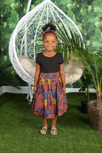 Load image into Gallery viewer, AKANI AFRICAN PRINT GIRLS' SKIRT - KEJEO DESIGNS