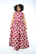 Load image into Gallery viewer, ANAYA African Print dress DRESS KEJEO