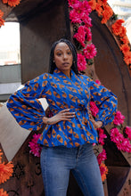 Load image into Gallery viewer, ANAYIS AFRICAN PRINT WOMEN'S BLAZER - KEJEO DESIGNS