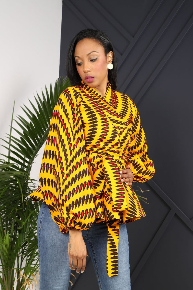 Load image into Gallery viewer, ANAYIS III AFRICAN PRINT WOMEN'S BLAZER - KEJEO DESIGNS