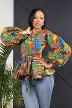 Load image into Gallery viewer, ANAYIS IV AFRICAN PRINT WOMEN'S BLAZER - KEJEO DESIGNS