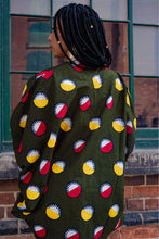 Load image into Gallery viewer, APRIL AFRICAN PRINT KIMONO WOMEN'S JACKET - KEJEO DESIGNS
