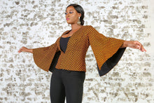 Load image into Gallery viewer, BENITA African Print Cape Blazer VEST KEJEO