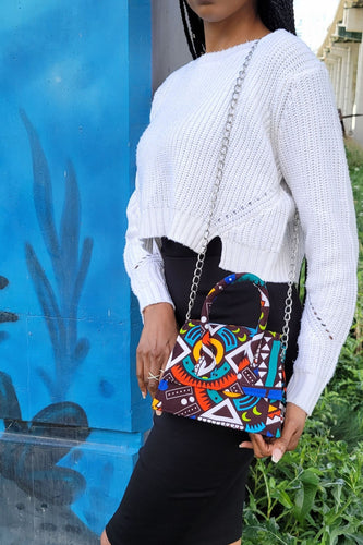 COCO African Print Mini Bag - KEJEO DESIGNS