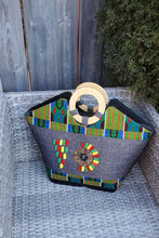 Load image into Gallery viewer, DELPHINA African Print Bag - KEJEO DESIGNS