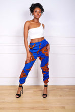 Load image into Gallery viewer, DENU AFRICAN PRINT WOMEN'S CARGO PANT - KEJEO DESIGNS