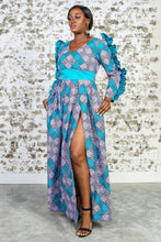 Load image into Gallery viewer, DIYANA African Print Dress DRESS KEJEO